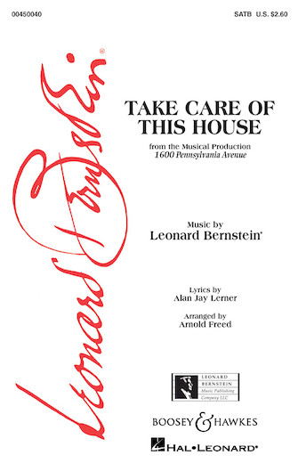 Product Cover for Take Care of This House (from 1600 Pennsylvania Avenue)
