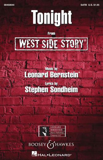 Tonight : SATB : William Stickles : West Side Story : Sheet Music : 00450044 : 073999561920