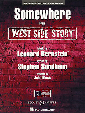 Product Cover for Somewhere (from West Side Story)