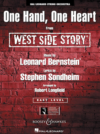 Product Cover for One Hand, One Heart (from West Side Story)