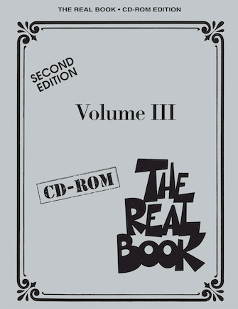 Product Cover for The Real Book Volume III – Second Edition – CD-ROM