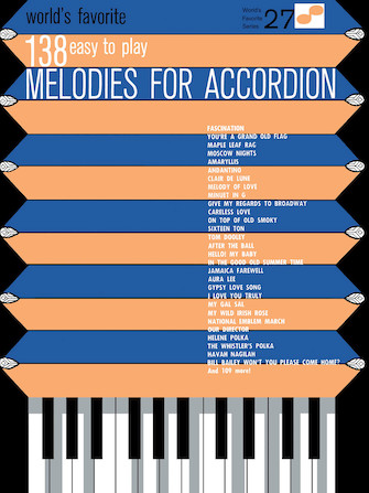 Product Cover for 138 Easy to Play Melodies for Accordion