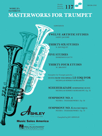 Product Cover for Masterworks for Trumpet Book 1