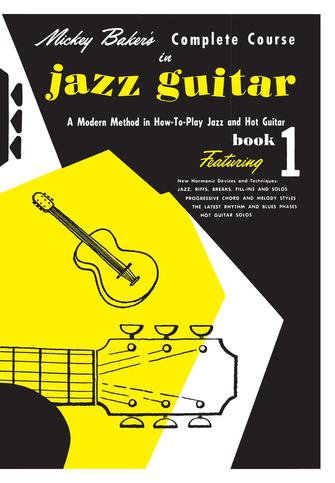 Product Cover for Mickey Baker's Complete Course in Jazz Guitar