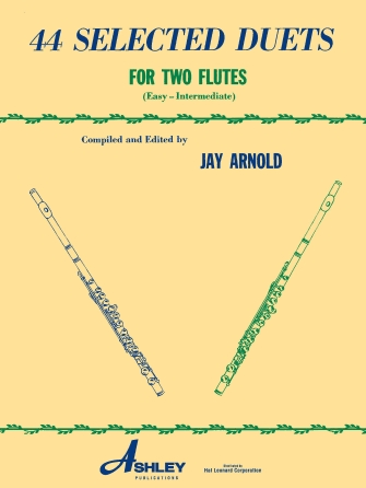 44 Selected Duets for Two Flutes – Book 1