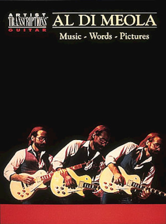 Product Cover for Al Di Meola – Music, Words, Pictures