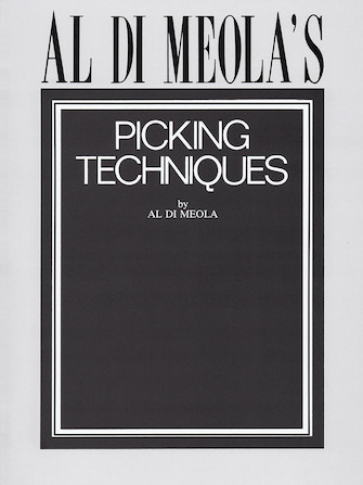 Product Cover for Al Di Meola's Picking Techniques
