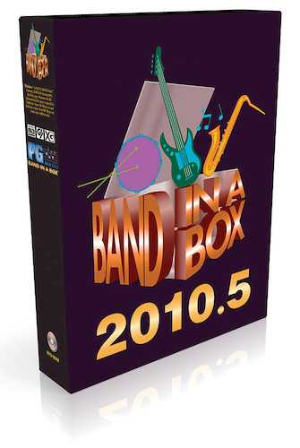 Product Cover for Band-in-a-Box 2010.5 Pro with RealBand – 11-25 Seats Pack