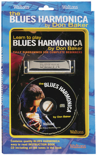 Product Cover for Learn to Play Blues Harmonica