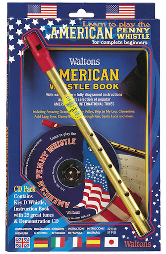 Product Cover for Learn to Play the American Penny Whistle for Complete Beginners