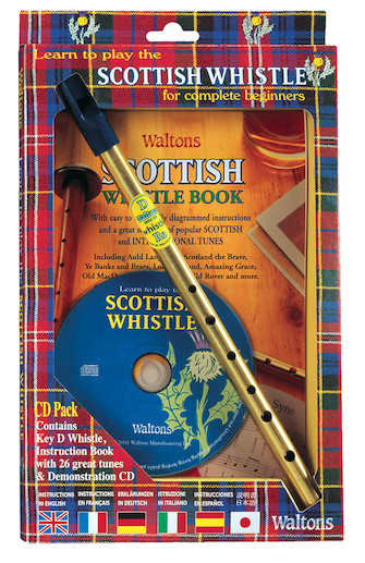 Product Cover for Learn to Play the Scottish Penny Whistle for Complete Beginners