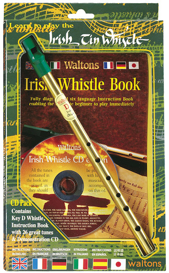 Product Cover for Learn to Play the Irish Tin Whistle