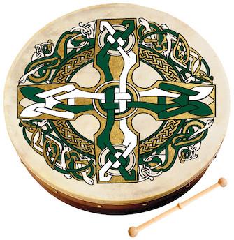 Product Cover for Celtic Cross Bodhrán
