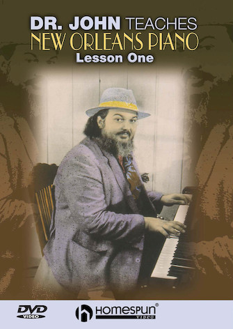 Product Cover for Dr. John Teaches New Orleans Piano