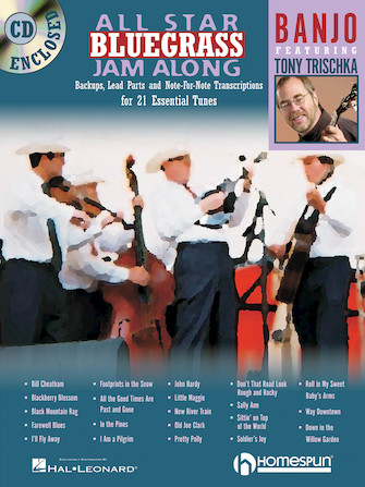 Product Cover for All Star Bluegrass Jam Along for Banjo