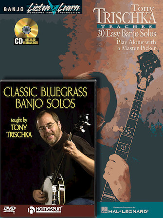 Product Cover for Tony Trischka – Banjo Bundle Pack