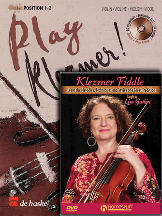 Product Cover for Play Klezmer – Violin/Fiddle Bundle Pack