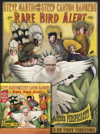 Product Cover for Steve Martin – Rare Bird Alert