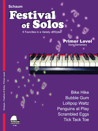 Product Cover for Festival of Solos