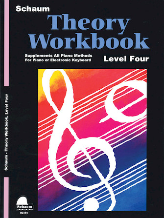 Product Cover for Theory Workbook – Level 4