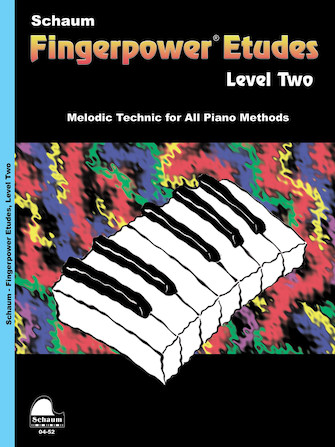 Product Cover for Fingerpower – Etudes Level 2
