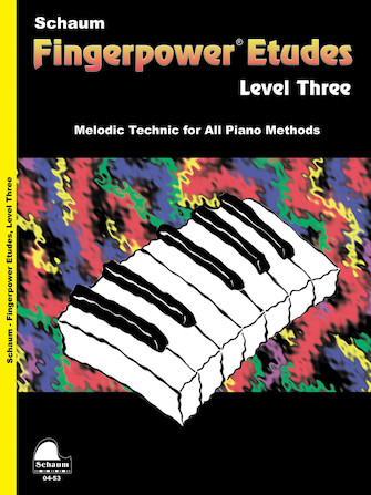 Product Cover for Fingerpower – Etudes Level 3