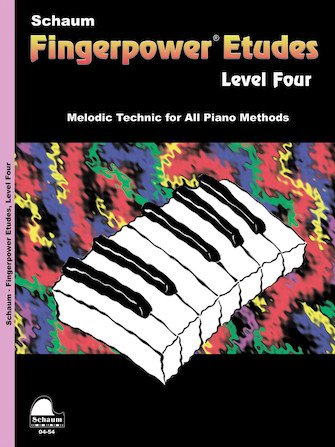 Product Cover for Fingerpower – Etudes Level 4