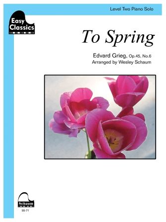 Product Cover for To Spring, Op. 45, No. 6