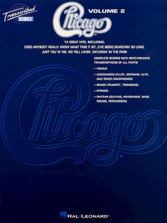 Product Cover for Chicago – Transcribed Scores Volume 2