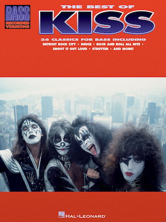 Product Cover for The Best of Kiss for Bass Guitar