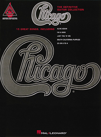 Product Cover for Chicago – The Definitive Guitar Collection