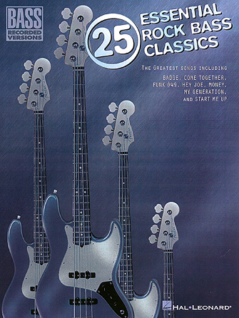 Product Cover for 25 Essential Rock Bass Classics