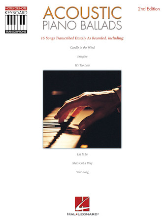 Product Cover for Acoustic Piano Ballads