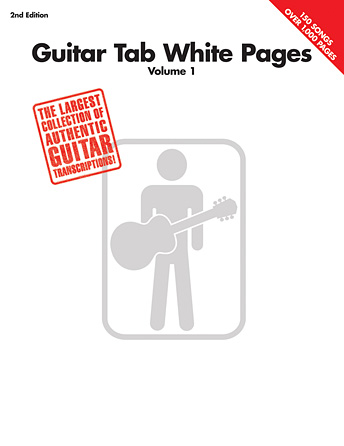 Product Cover for Guitar Tab White Pages – Volume 1 – 2nd Edition