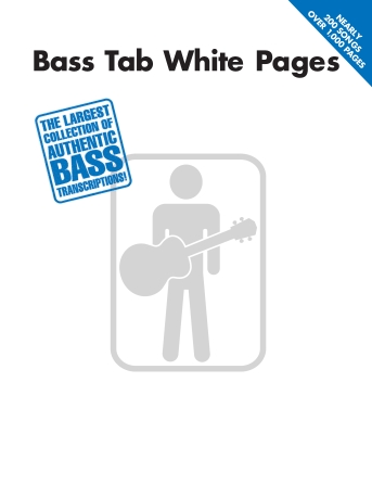 Product Cover for Bass Tab White Pages