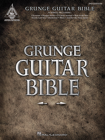 Product Cover for Grunge Guitar Bible – 2nd Edition