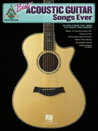 Product Cover for Best Acoustic Guitar Songs Ever
