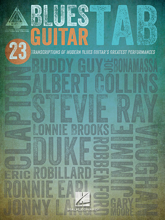 Blues Guitar Tab | Hal Leonard Online