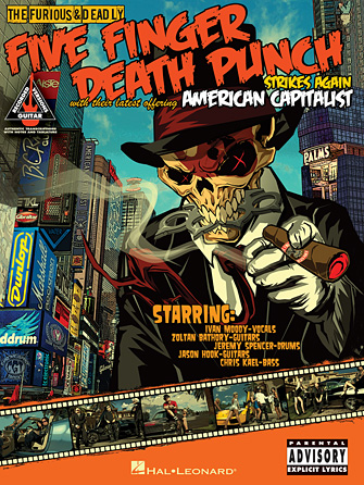 Product Cover for Five Finger Death Punch – American Capitalist