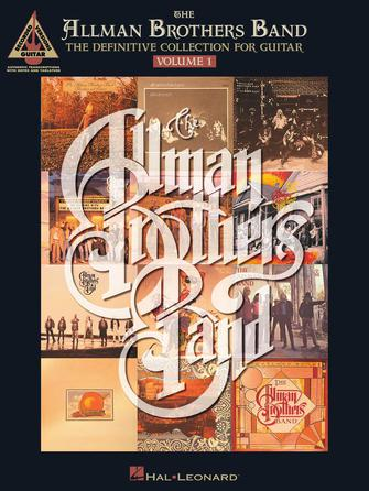 Product Cover for The Allman Brothers Band – The Definitive Collection for Guitar – Volume 1