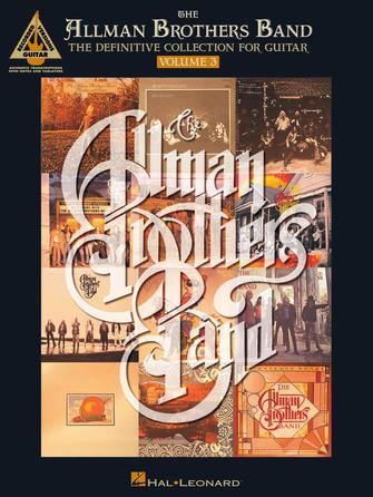 Product Cover for The Allman Brothers Band – The Definitive Collection for Guitar – Volume 3