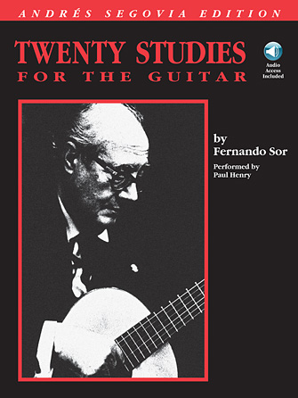 Product Cover for Andres Segovia – 20 Studies for the Guitar