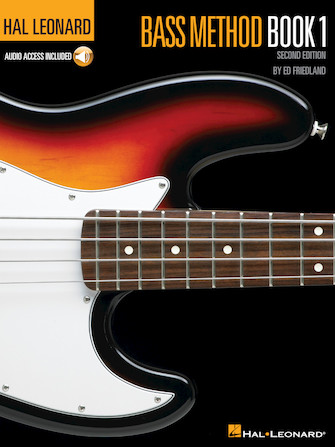 Hal Leonard Bass Method Book 1 – 2nd Edition
