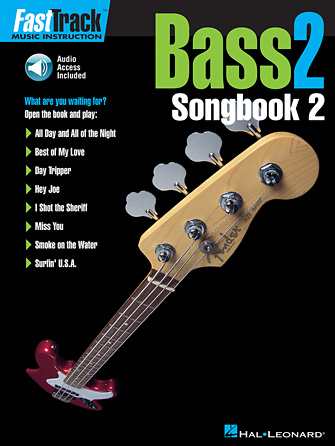Product Cover for FastTrack Bass Songbook 2 – Level 2