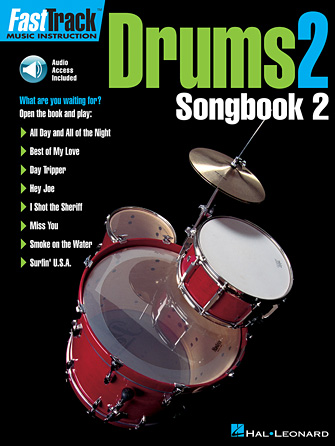 Product Cover for FastTrack Drums Songbook 2 – Level 2