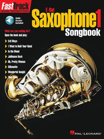 Product Cover for FastTrack Alto Saxophone Songbook – Level 1
