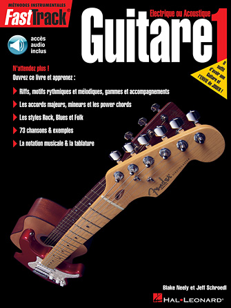 Product Cover for FastTrack Guitar Method – Book 1 – French Edition
