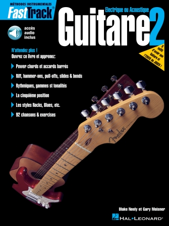 Product Cover for FastTrack Guitar Method – Book 2 – French Edition – With Online Audio
