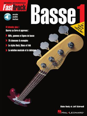 Product Cover for FastTrack Bass Method – Book 1 – French Edition