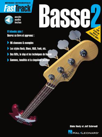 Product Cover for FastTrack Bass Method – Book 2 – French Edition